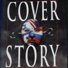 Cover Story political suspense novel - thriller novel book by Robert Cullen fiction hardcover