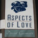 Aspects of Love - romance drama love novel - paperback book David Garrett