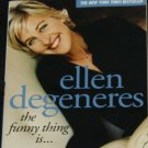 Ellen Degeneres The Funny Thing Is - humor paperback comedy book