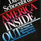 America Inside Out book by Davis Shoenbrun politics political book