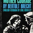 Mother Courage - Bertolt Brecht theater play - english version Eric Bentley paperback book
