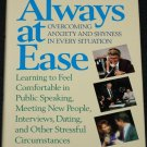 Always At Ease book by Overcoming Anxiety and Shyness book by Christopher J. McCullough