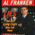 Al Franken book Lies, and the Lying Liars Who Tell Them politics book political democrat book