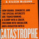 SIGNED Catastrophe by Dick Morris politics political book