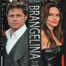 Brangelina Brad Pitt Angelina Jolie - Hollywood ceberities movies star celebrity - hardcover book
