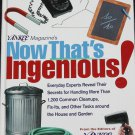 Now That's Ingenious! book from the editors of Yankee Magazine - home household fix tips