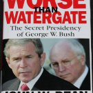 Worse Than Watergate - political book - George Bush - republican politics presidency president