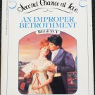An Improper Betrothment - romance paperback book by Henrietta Houston