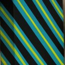 Home or Business Minimalist Stripes Teal Neon Yellow Black acrylic art acrylic painting canvas
