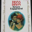 Return Engagement - romance novel paperback book by