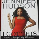 Jennifer Hudson - I Got This - American Idol star - hardcover book weight loss watchers