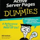 Active Server Pages For Dummies book with CD-ROM computer web educational book