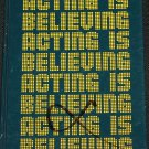 1975 Acting Is Believing - book by Charles McGraw
