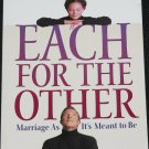 Each For The Other Marriage As It's Meant To Be - Christian religious book by Bryan Chapell