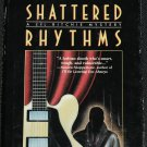 Shattered Rhythms hardcover book by Phyllis Knight  lesbian private detective story mystery