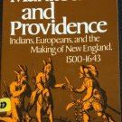 Manitou and Providence Indians Europeans New England book by Neil Salisbury