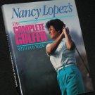 Nancy Lopez Complete Golfer hardcover book sports golf golfing