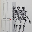Skeletons in the Closet suspense novel crime story hardcover book scary fiction