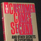 The Customer Comes Second - business book by HAL ROSENBLUTH