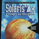 Solaris 2.x For Managers and Administrators - softcover computer technology operating system book
