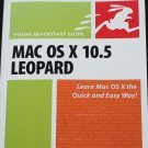 Mac OS X 10.5 Leopard - graphical user interface based operating system book computer & infornation