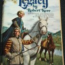 The Stuart Legacy - romance adventure paperback book by Robert Kerr