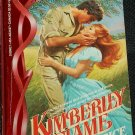 1983 Kimberley Flame - romance  paperback book by Julia Grace