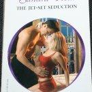The Jet-Set Seduction - romance paperback book by Sandra Field