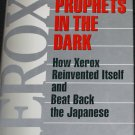 Xerox Prophets In the Dark How Xerox Reinvented Itself business book hardcover