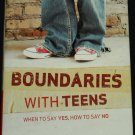Boundaries With Teens - hardcover book by Dr. John Townsend parenting parent teenagers raising