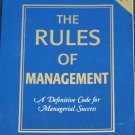 Rules of Management by Richard Templar business book