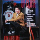 Up Close - sports book by Roy Firestone hardcover tv host sporting