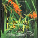 Somebody Loves You by Helen Steiner Rice paperback poems poetry book