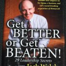 Get Better or Get Beaten business book by Jack Welch