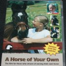 A Horse of Your Own DVD - instructional educational - animal owner pet care ownership dvd