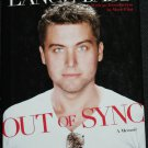 Out of Sync - pop star Lance Bass book - music celebrity hardcover book
