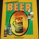 The World Guide To Beer by Michael Jackson  hardcover - beer drinking drinks book