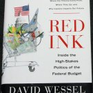 Red Ink politics political book hardcover non fiction