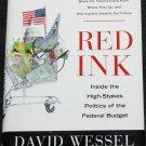 Red Ink politics political book hardcover non fiction