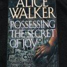Possessing the Secret of Joy novel by Alice Walker - softcover book fiction