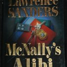 McNally's Alibi mystery suspense novel by Lawrence Sanders fiction hardcover book