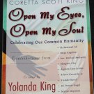 Open My Eyes, Open My Soul - self-help paperback book by Yolanda King