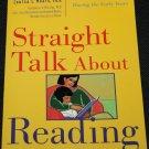 Straight Talk About Reading book by Susan L. Hall - parent kids child children literacy teaching