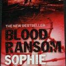Blood Ransom thriller espionage suspense novel by Sophie McKenzie paperback book