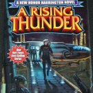A Rising Thunder hardcover book by David Weber - science fiction reading