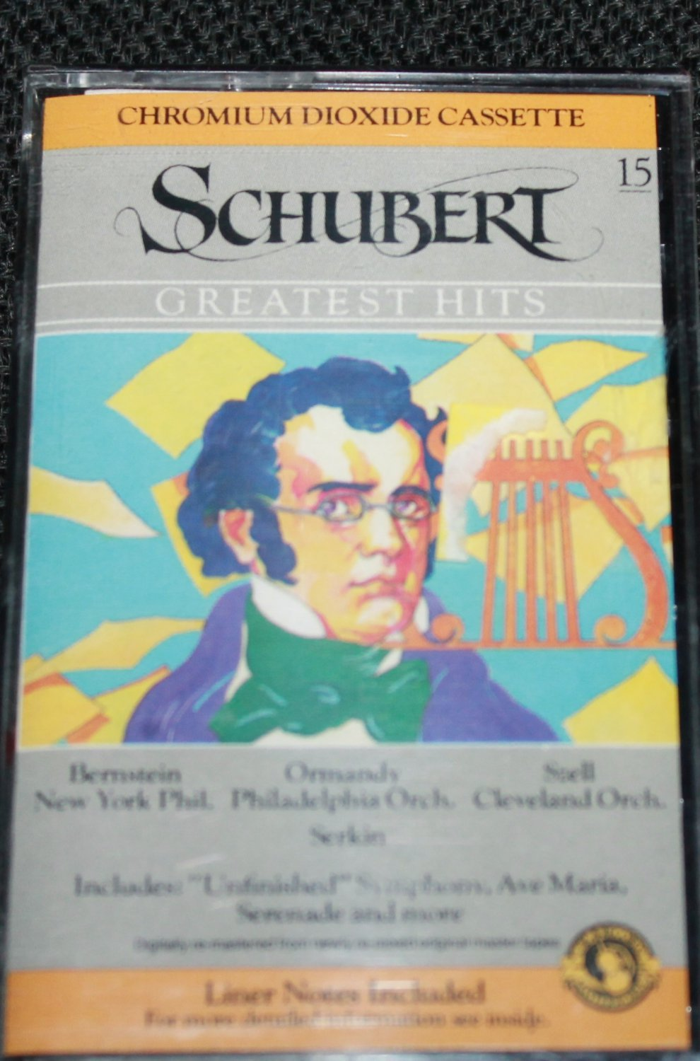 NEW Schubert Greatest Hits classical music cassette tape