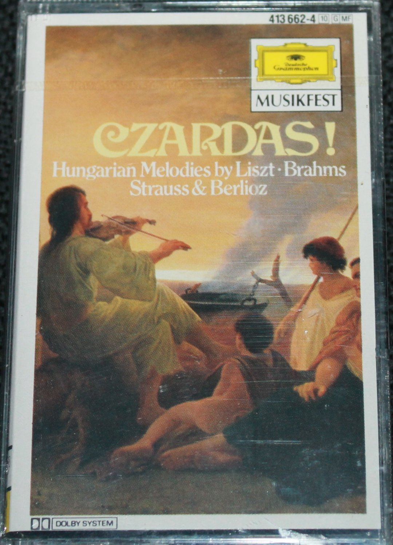 Czardas! Hungarian Melodies by Liszt Brahms Strauss & Berlioz classical music cassette