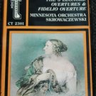 Beethoven Overtures The 3 Leonore Overtures & Fidelo Overture - classical music cassette tape