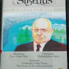 Sibellius Greatest Hits - Bernstein Ormandy - classical music cassette tape