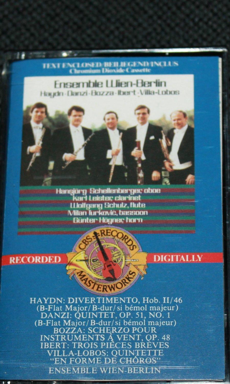 Ensemble Wein-Berlin music cassette tape